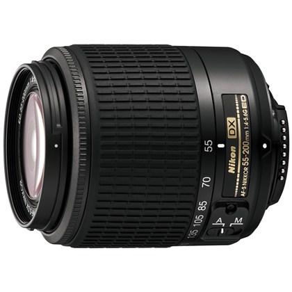 עדשת ניקון NIKON 55-200mm f/4-5.6 G ED AF-S DX