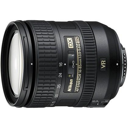 עדשת ניקון NIKON 16-85mm f/3.5-5.6 G ED VR AF-S DX