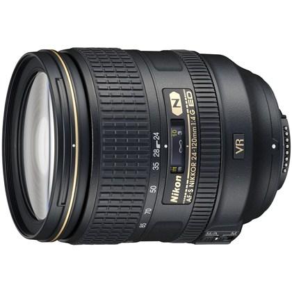 עדשת ניקון מקצועית  Nikon 24-120mm f/4 G ED AF-S VR