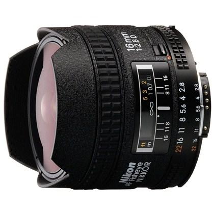 עדשת ניקון מקצועית Nikon 16mm f/2.8 D AF