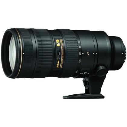 עדשת ניקון מקצועית Nikon 70-200mm f/2.8 G ED AF-S VR II