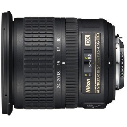 עדשת ניקון  NIKON 10-24mm f/3.5-4.5 AF-S