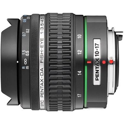 עדשת עין הדג  פנטקס Pentax DA 10-17mm FishEye