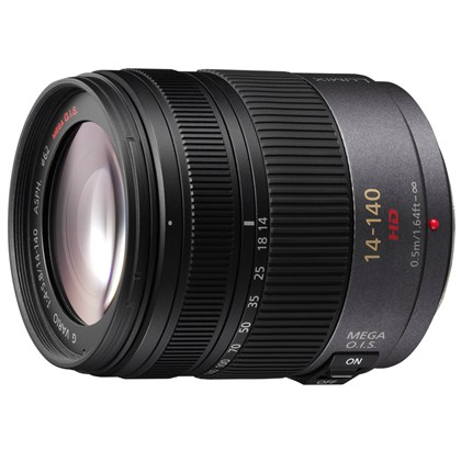 Panasonic 14-140mm f/4.0-5.8 Lumix Vario Aspherical  עדשה