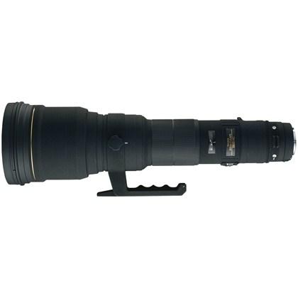עדשת סיגמה למצלמות ניקון SIGMA 800mm F5.6 APO EX D