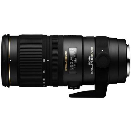 עדשת סיגמה למצלמות קנון SIGMA 70-200mm F2.8 EX DG OS