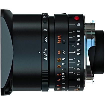 חדש!! עדשה מקצועית רחבת זווית  LEICA דגם:LEICA ELMAR-M 24mm f/3.8 ASPH.