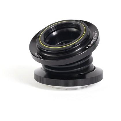 עדשה למצלמה DSLR ליצירת אפקטים אופטיקה זכוכית דגם:Lensbaby MUSE W/DOUBLE GLASS