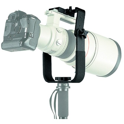 HEAVY TELE LENS SUPPORT FOR MONOPOD