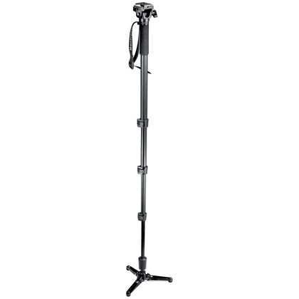 Manfrotto 560B FLUID VIDEO MONOPOD W/HEAD