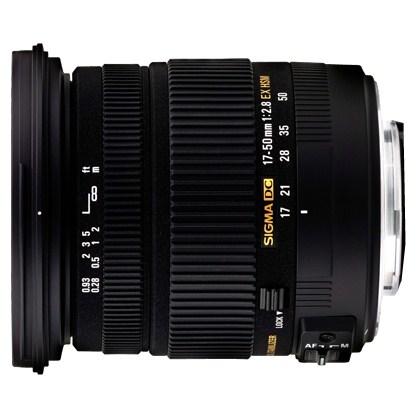 עדשת סיגמה למצלמות ניקון SIGMA 17-50mm 2.8 DC OS HSM