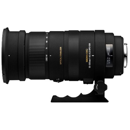 עדשת סיגמה למצלמות קנון SIGMA 50-500mm F4.5-6.3DG OS