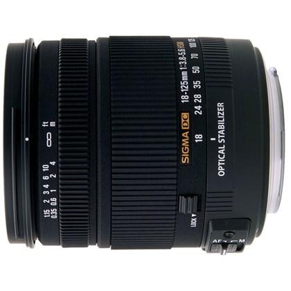 עדשת סיגמה למצלמות ניקון SIGMA 18-125mm DC OS HSM