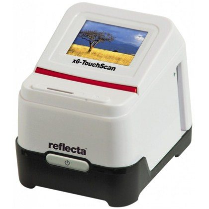 film and slidescanner reflecta x6-TouchScan scannig without PC