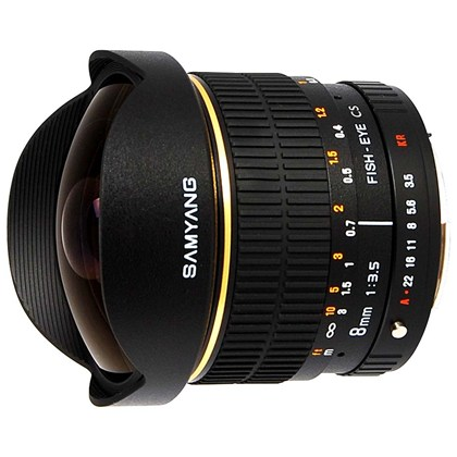SAMYANG 8mm f/3.5 IF MC Fisheye Four Thirds