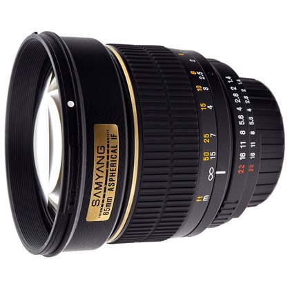 Samyang 85mm f/1.4 Aspherical IF for CANON