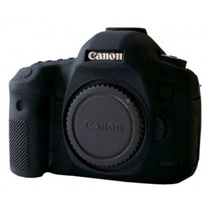 Silicone Camera Case  for Canon 5D Mark III Black