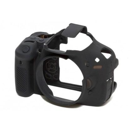 Silicone Camera Case  for Canon 650D/700D/T4i/T5i Black
