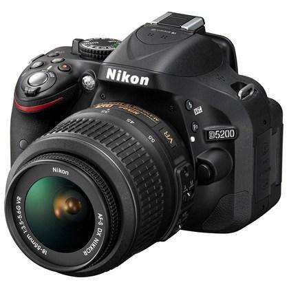 Nikon d5200+18-55 VR2