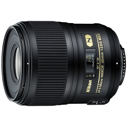 Nikon 60mm Micro f/2.8 G AF-S ED