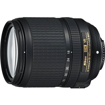 Nikon 18-140mm AF-S DX f/3.5-5.6G ED VR Lens