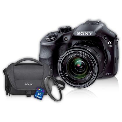 Sony Alpha a3000 Digital Camera + 18-55mm OSS