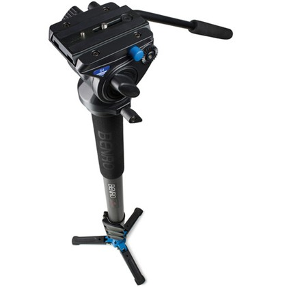 Benro A48F Classic Aluminum Monopod with S4 Head