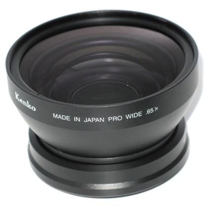 Kenko KRW-065 PRO WIDE CONVERSION LENS 0.65X FOR 52, 55, 58MM (340g) F/D 82MM