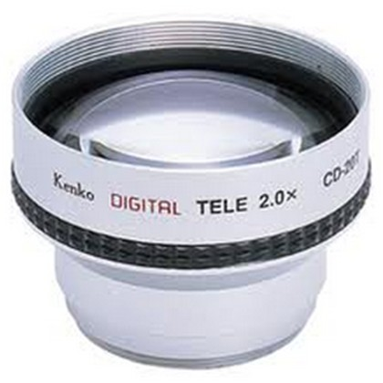 Kenko CD-20T TELECONVERSION LENS 2.0X FOR 37MM (88g) F/D 52MM