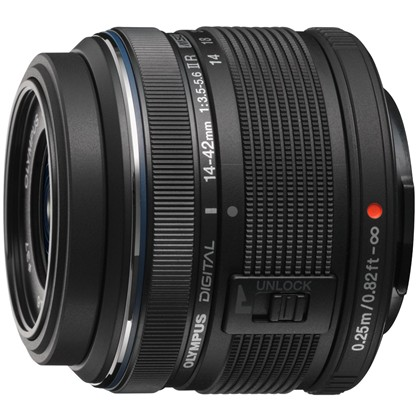 Olympus M.ZUIKO DIGITAL 14-42mm 1:3.5-5.6 II R Lens