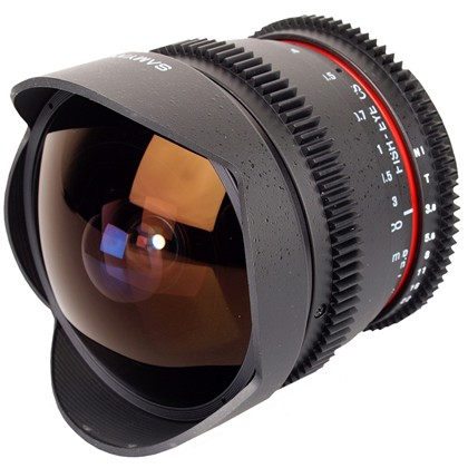SAMYANG 8mm f/3.5 IF MC Fisheye CINE לניקון