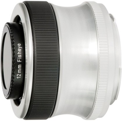 Lensbaby SCOUT W/Fisheye Optic For NIKON