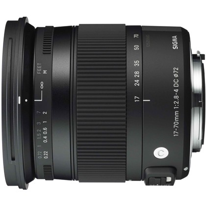 SIGMA 17-70mm F/2.8-4 DC Macro OS HSM Contemporary
