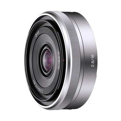 Sony 16mm F/2.8 - עדשה רחבה ל NEX
