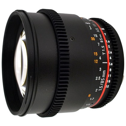 Samyang 85mm f/1.4 Aspherical IF T/1.5T CINE