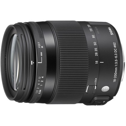 SIGMA 18-200 F3.5-6.3 DC MACRO OS HSM - Contemporary for Canon