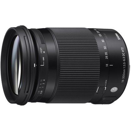 SIGMA 18-300 F3.5-6.3 DC MACRO OS HSM CONTEMPORARY For Canon