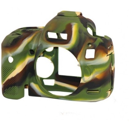 Silicone Camera Case  for Canon 5D Mark III Camouflage