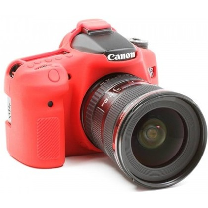Silicone Camera Case  for Canon 70D Red