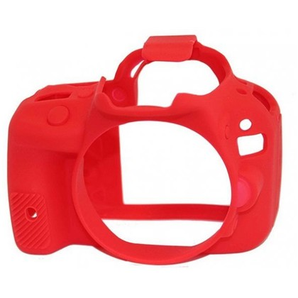 Silicone Camera Case  for Canon 100D/SL1 Red
