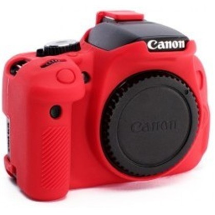 Silicone Camera Case  for Canon 650D/700D/T4i/T5i Red