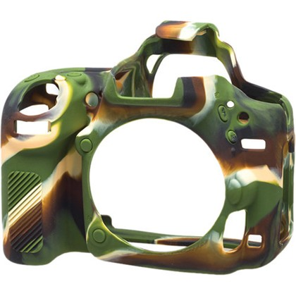 Silicone Camera Case  for Nikon D750 Camouflage