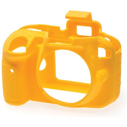 Silicone Camera Case  for Nikon D3300 Yellow