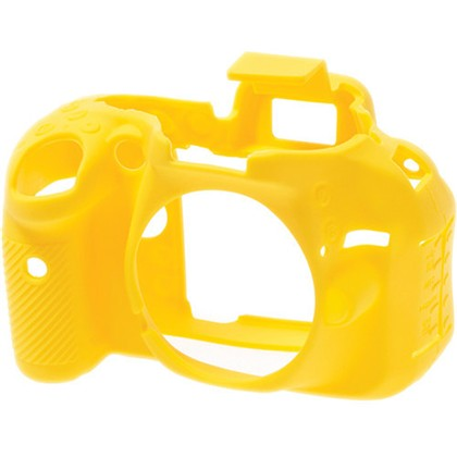 Silicone Camera Case  for Nikon D5200 Yellow