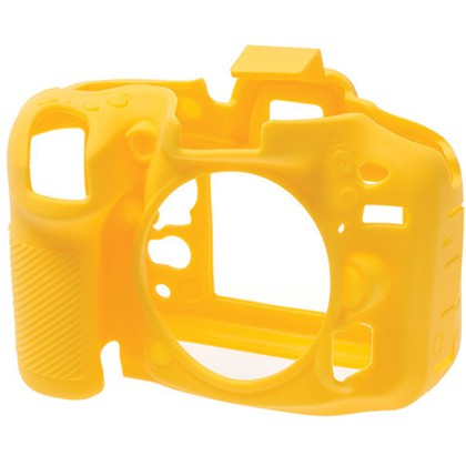 Silicone Camera Case  for Nikon D7100 Yellow