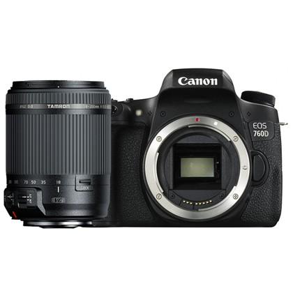Canon 760d + Tamron 18-200mm VC