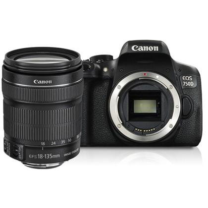 Canon 750d +18-135mm