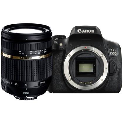Canon 750D + TAMRON 18-270mm
