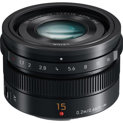 Panasonic DG Summilux 15mm f/1.7 ASPH