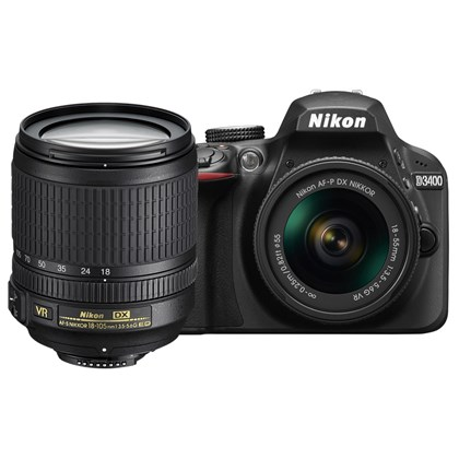 Nikon D3400 18-105mm lens kit